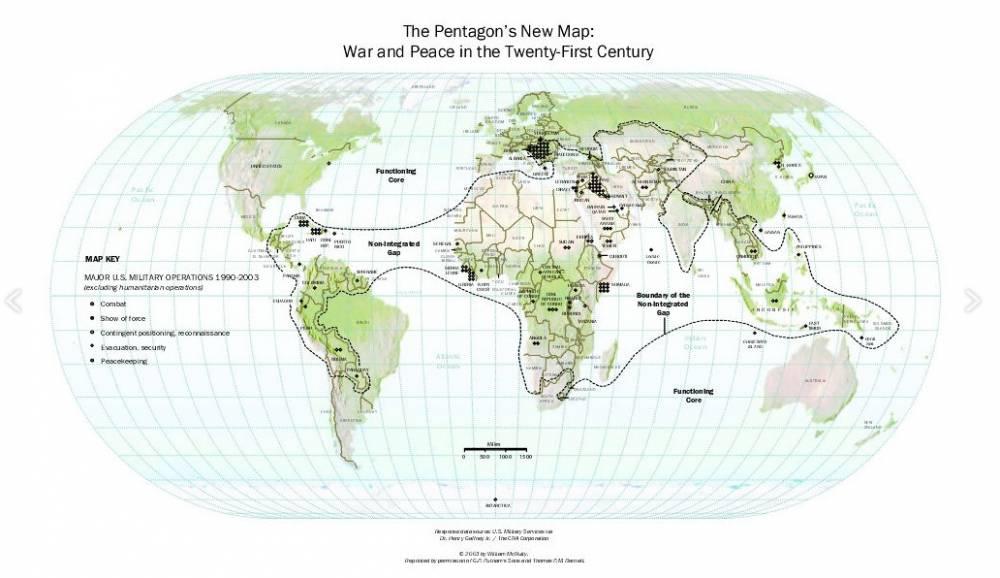 guerra en América Latina, el nuevo mapa del Pentágono